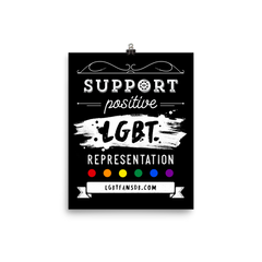 #SupportLGBTee Poster