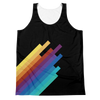 Stripes Unisex Tank Top