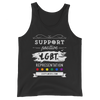 #SupportLGBTee Unisex Tank Top