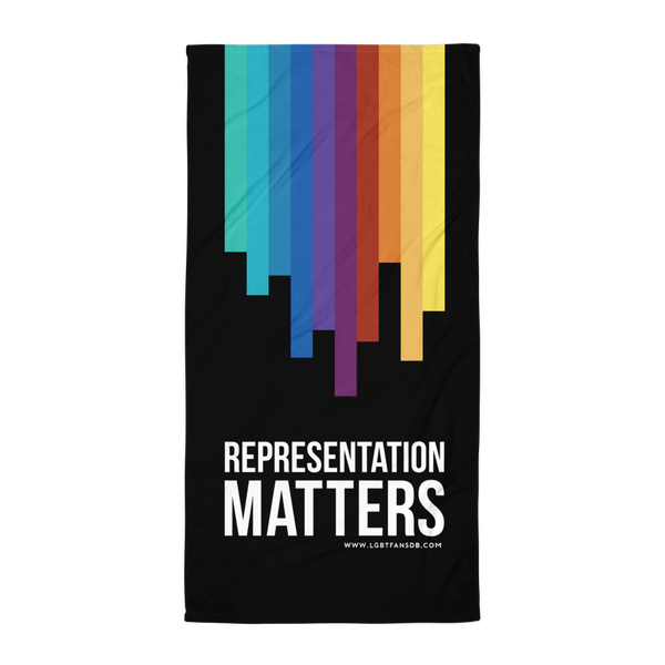 Representation Matters Beach Towel