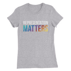 Rainbow Rep Matters Women's T-Shirt