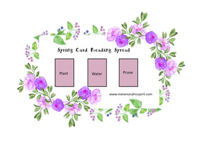 Spring Card Layout Reading