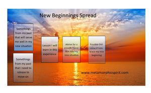New Beginnings Email Reading