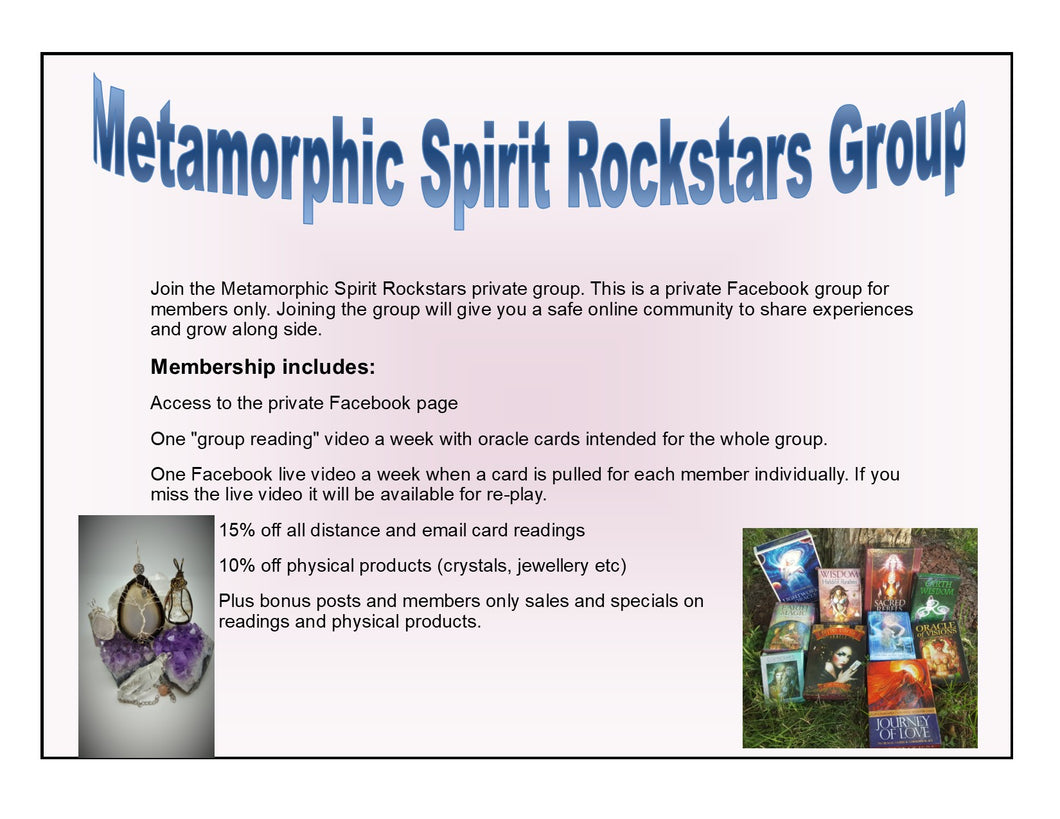 One Month Rockstar Membership