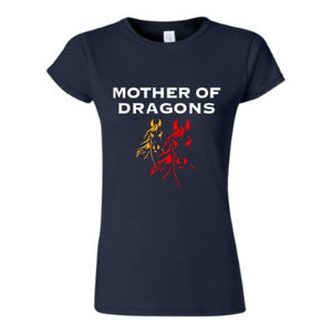 Mother of Dragons-Horses - Eventing - LADIES - Short sleeved T Shirt