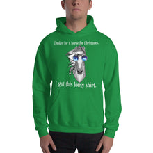 Christmas lousy shirt (White type) - Unisex Hooded Sweatshirt