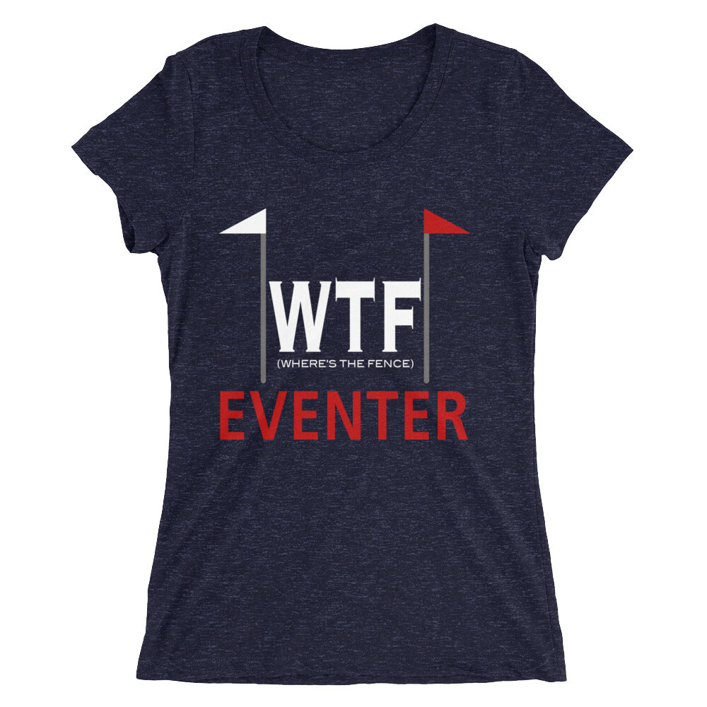 Where's The Fence - Ladies' short sleeve t-shirt - Form fitting