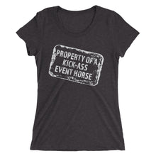 Property of- Ladies' short sleeve t-shirt - Form fitting