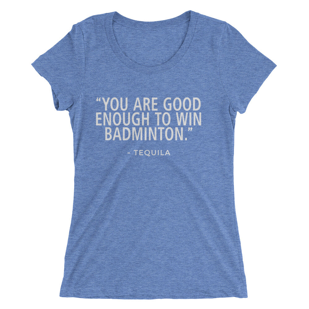 Win Badminton-Tequila - Ladies' short sleeve t-shirt - Form fitting