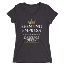 Eventing Empress - Ladies' short sleeve t-shirt - Form fitting