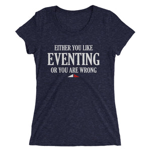 You are wrong - Ladies' short sleeve t-shirt - Form fitting
