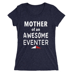Mother Awesome Eventer - Ladies' short sleeve t-shirt - Form fitting