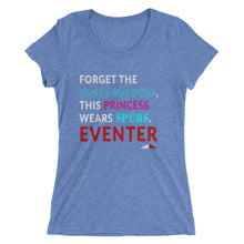 Forget Glass Slippers - Ladies' short sleeve t-shirt - Form fitting