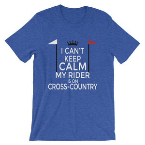 Rider on Cross-Country - Unisex - Short-Sleeve Unisex T-Shirt - Relaxed fit