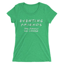 Eventing Friends - Ladies' short sleeve t-shirt - Form fitting