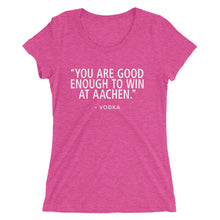 Win Aachen - (SJ) Ladies' short sleeve t-shirt - Form fitting