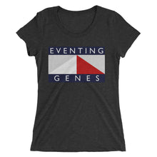 Eventing Genes - Ladies' short sleeve t-shirt - Form fitting