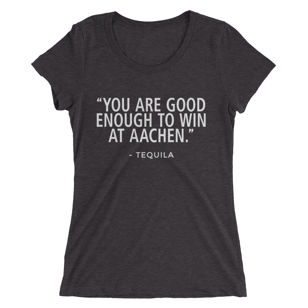 Win Aachen - Tequila - (SJ) Ladies' short sleeve t-shirt - Form fitting