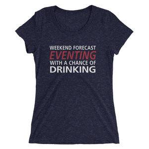 Weekend Forecast - Ladies' short sleeve t-shirt - Form fitting