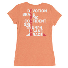 Eventing - Back printing - Ladies' short sleeve t-shirt - Form fitting
