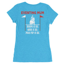 Paid for it all - Mum - Back printed - Ladies' short sleeve t-shirt - Form fitting