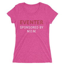 Sponsored by MOM - Ladies' short sleeve t-shirt - Form fitting