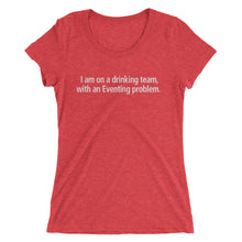 Eventing problem - Ladies' short sleeve t-shirt - Form fitting