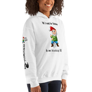 Mucking elf - Unisex Hooded Sweatshirt
