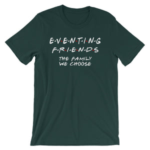 Eventing Friends - Unisex - Short sleeve t-shirt - Relaxed fit