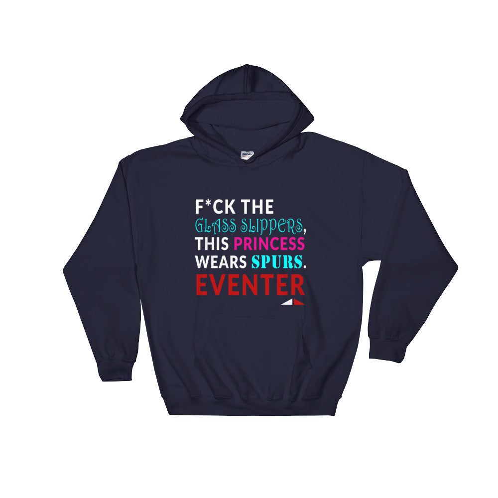 F*ck Glass Slippers - Unisex Hooded Sweatshirt