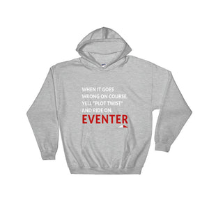 Plot Twist - Unisex Hooded Sweatshirt