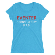 Sponsored by DAD - Ladies' short sleeve t-shirt - Form fitting