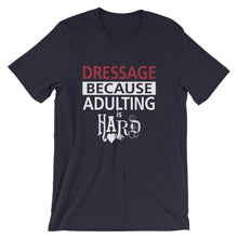 Adulting - Dressage - Unisex - Short sleeve t-shirt - Relaxed fit