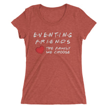 Eventing Friends with heart - Ladies' short sleeve t-shirt - Form fitting