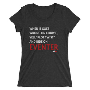 Plot Twist - Ladies' short sleeve t-shirt - Form fitting