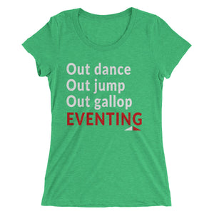 Out dance - Ladies' short sleeve t-shirt - Form fitting