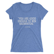 Win Badminton - Ladies' short sleeve T-shirt - Form fitting