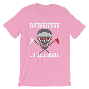 Badminton to the bone - Unisex - Short sleeve t-shirt - Relaxed fit