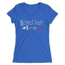 Helmet hair - Ladies' short sleeve t-shirt - Form fitting