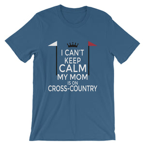 Mom on Cross-Country - Unisex - Short-Sleeve Unisex T-Shirt - Relaxed fit
