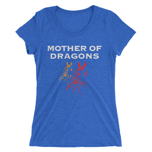 Mother of Dragons - Ladies' short sleeve t-shirt - Form fitting