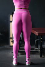 Progression V-Shaped Leggings Pink