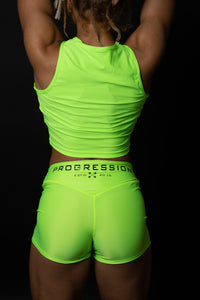 Electric Green Progression Shorts