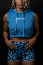 Absolute Sleeveless Crop Sky Blue