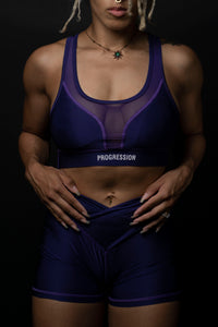 Royal Purple Sports Bra