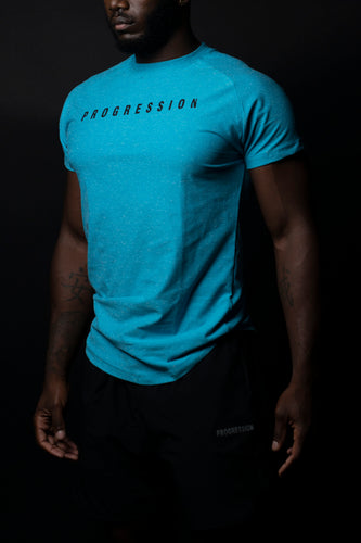 Sky Blue Progression Athletic Tee