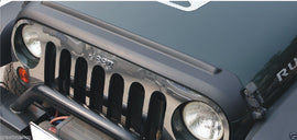 2007-17 Jeep Wrangler Unlimited JK 2&4 Doors Druable ABS Hood Protector Black