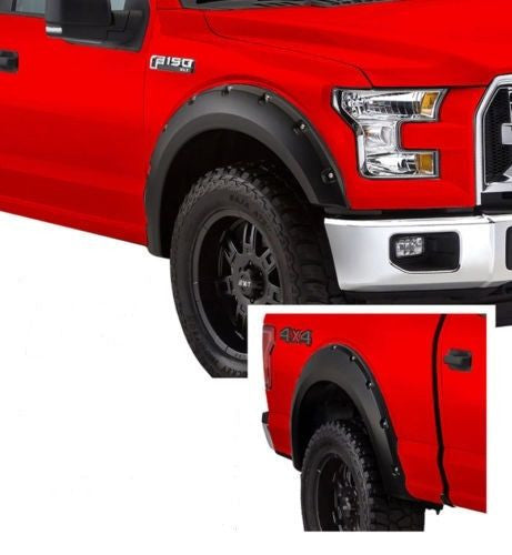 2009-2014 Ford F150 Muscle style 4pcs Fender Flare