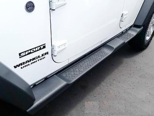 2007-2016 Jeep Wrangler Unlimited JK 4 Door Side Steps Running Boards