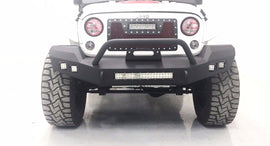 07-17 Jeep Wrangler JK Full Width Front Bumper with Winch Plate